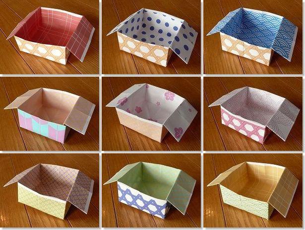 すべての折り紙 豆入れ 折り紙 : 節分に豆まきをする時などは箱 ...